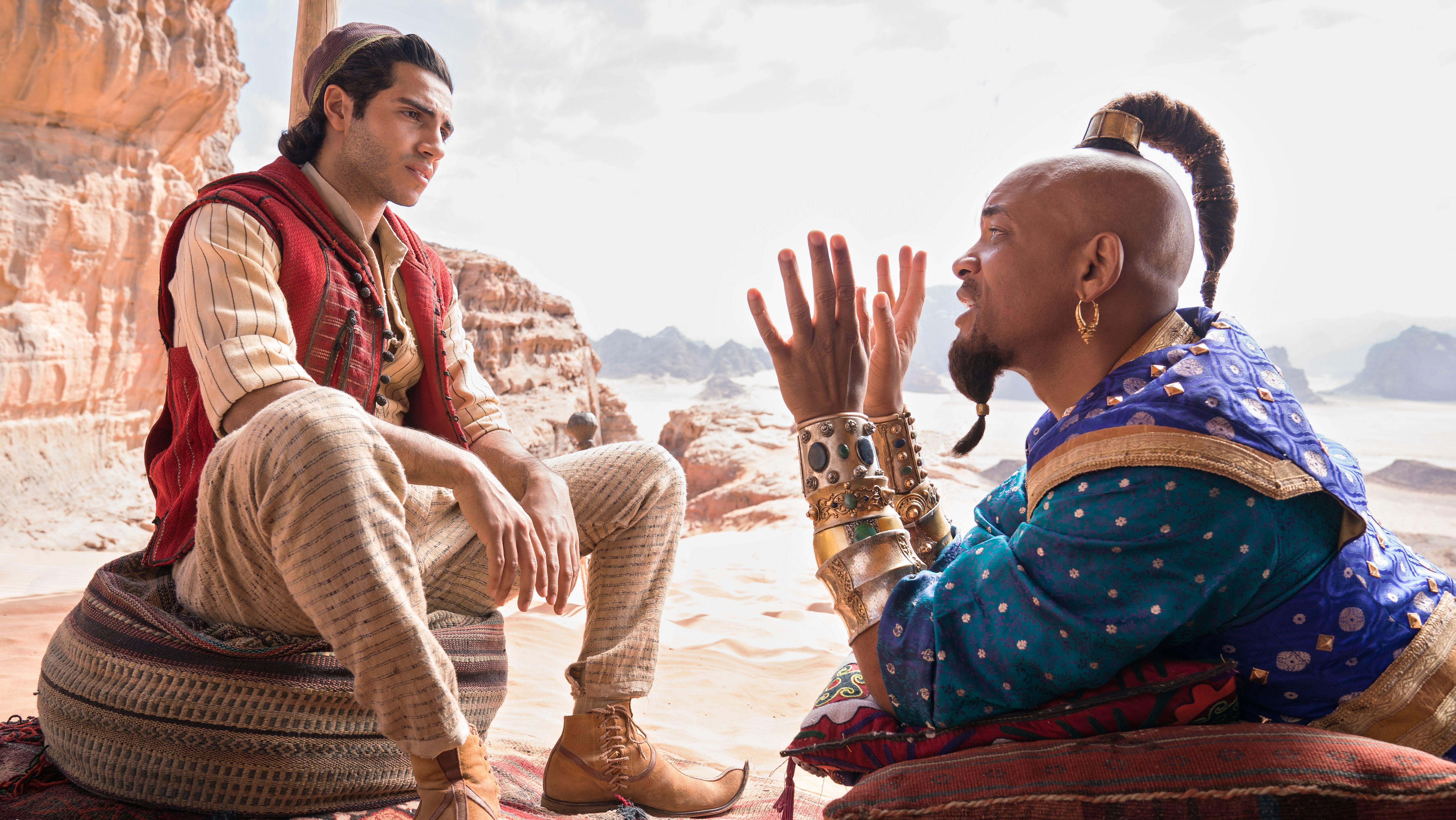"""Will Smith als Flaschengeist in der Realverfilmung von """"Aladdin"""""""