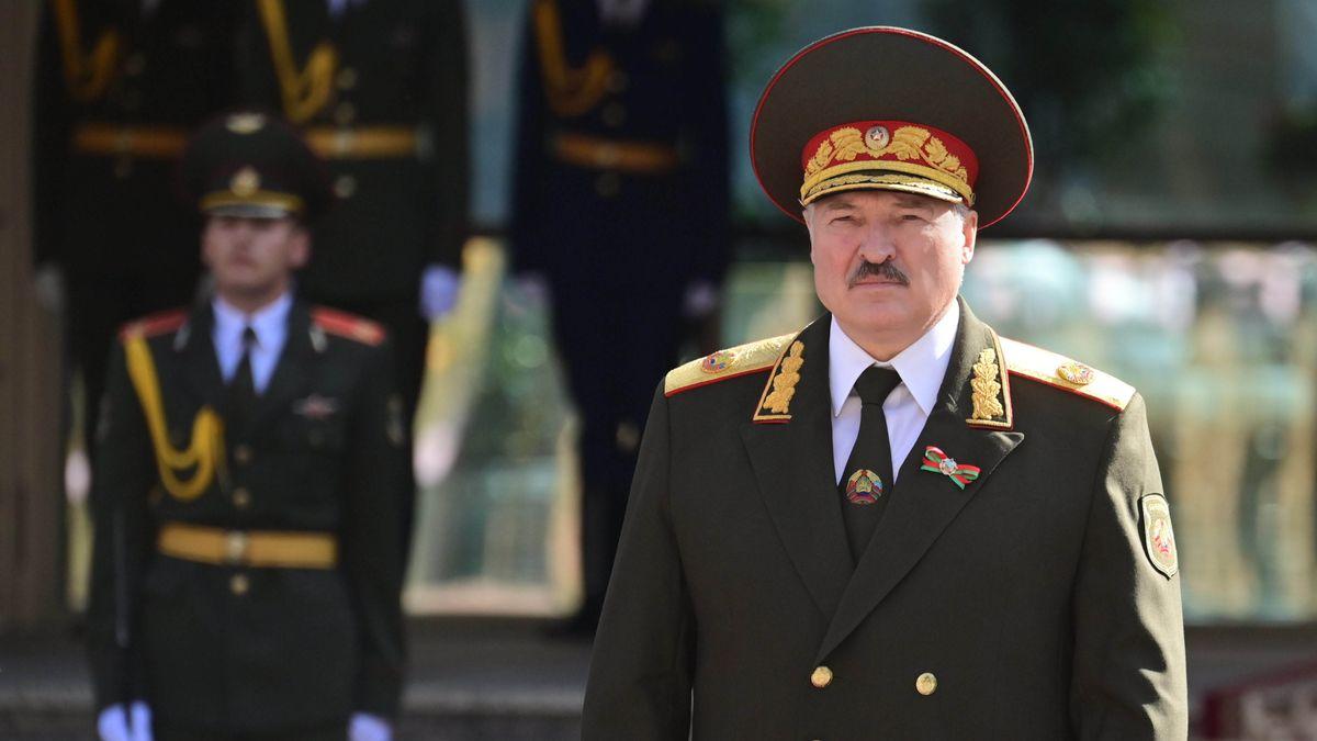 Der belarussische Präsident Alexander Lukaschenko bei seiner Vereidigung. USA und EU erkennen seine Wahl nicht an