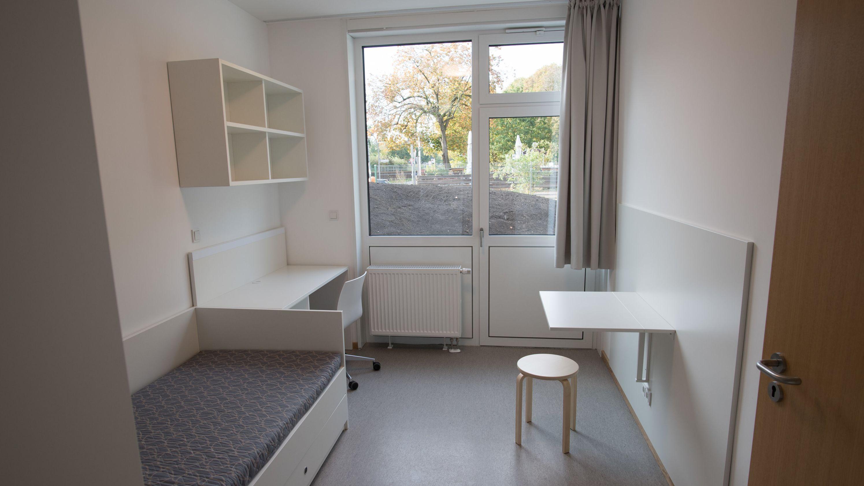 Zimmer in Studentenwohnheim (Symbolbild)