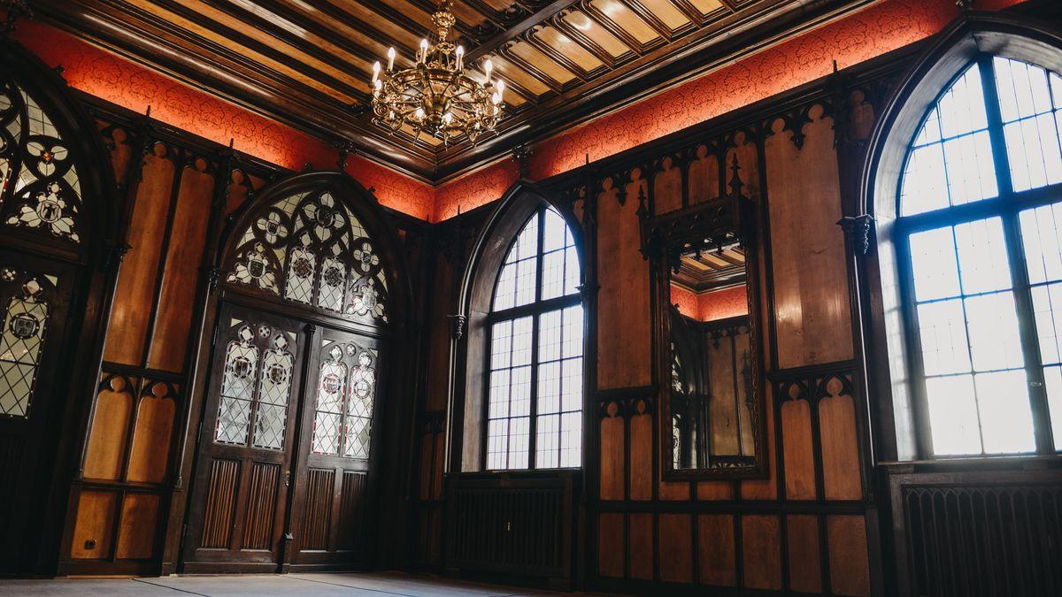 Der historische Wartesaal im DB-Museum Nürnberg