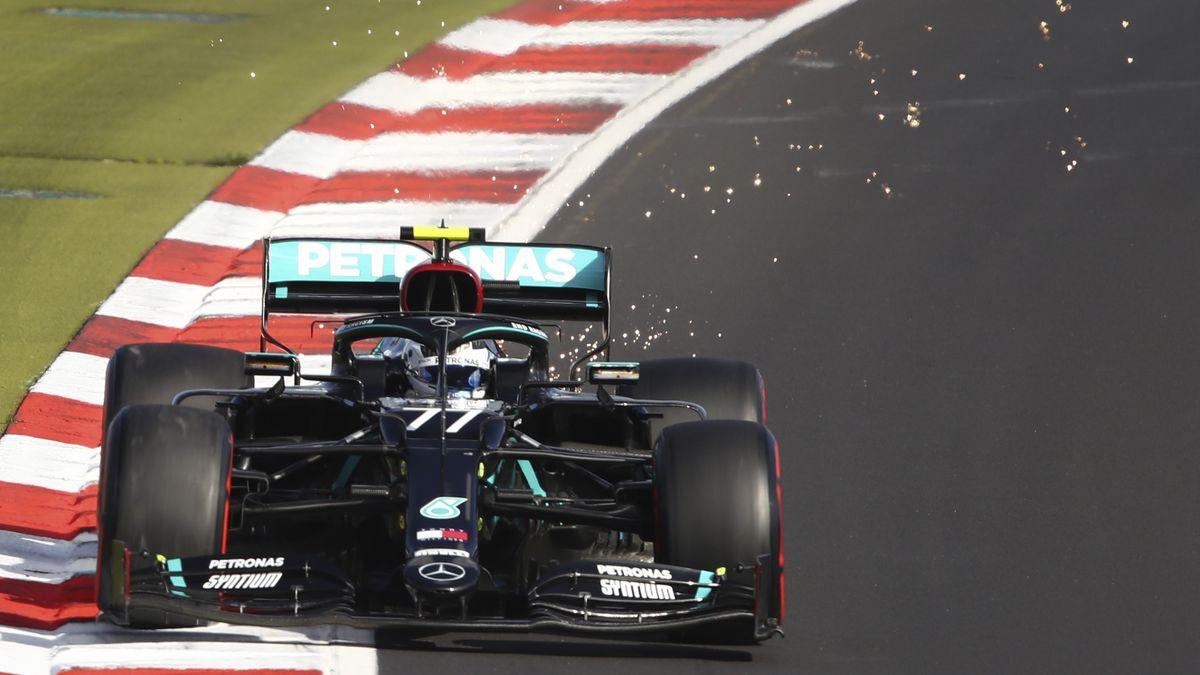 Formel 1-Pilot Valtteri Bottas im Mercedes