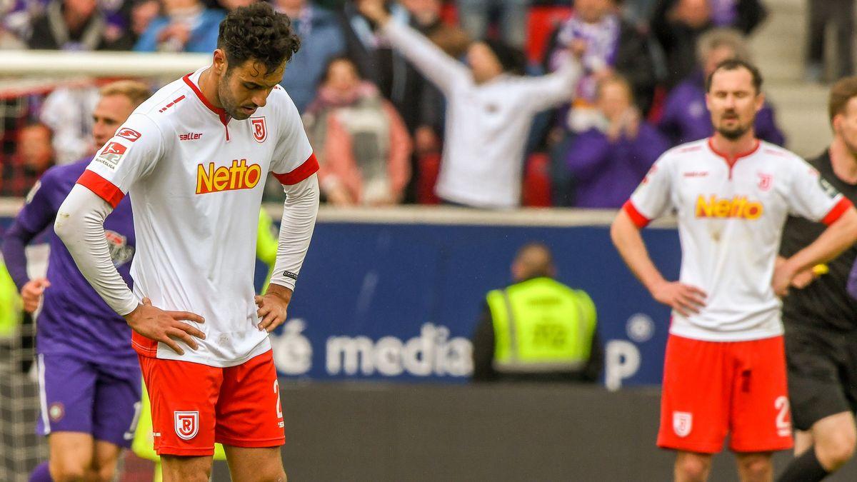 Jahn Regensburg verlor gegen Erzgebirge Aue