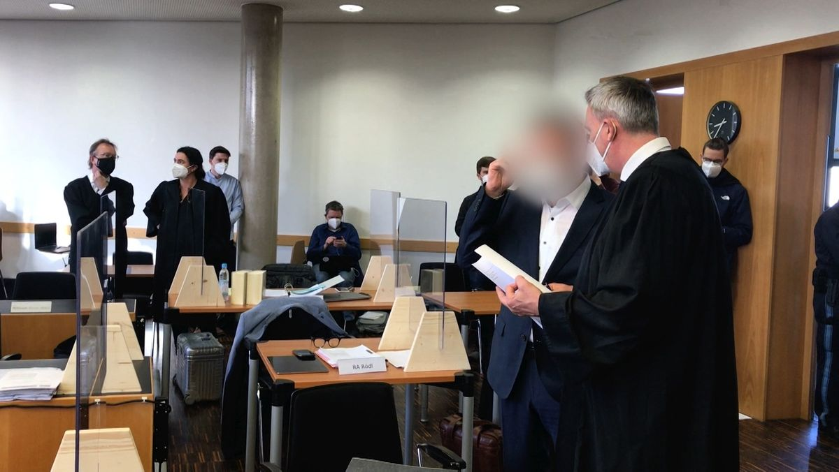 Prozess vor dem Landgericht Augsburg