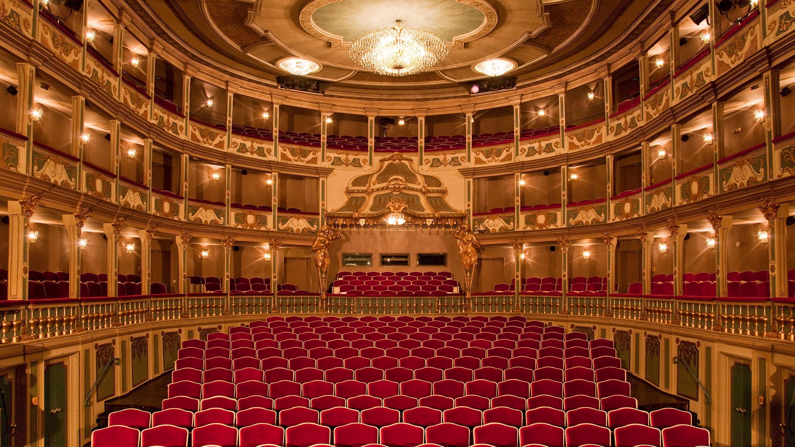 Zuschauerraum Markgrafentheater Erlangen