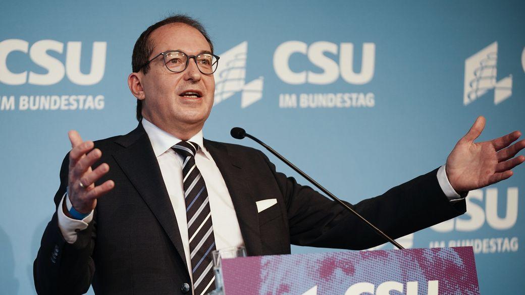 Zeigt sich erleichtert über die Ehrenerklärung der Unions-Abgeordneten: Alexander Dobrindt