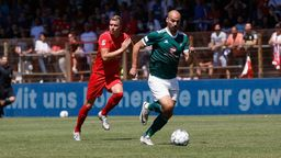TSV Havelse - 1. FC Schweinfurt 05 | Bild:picture alliance