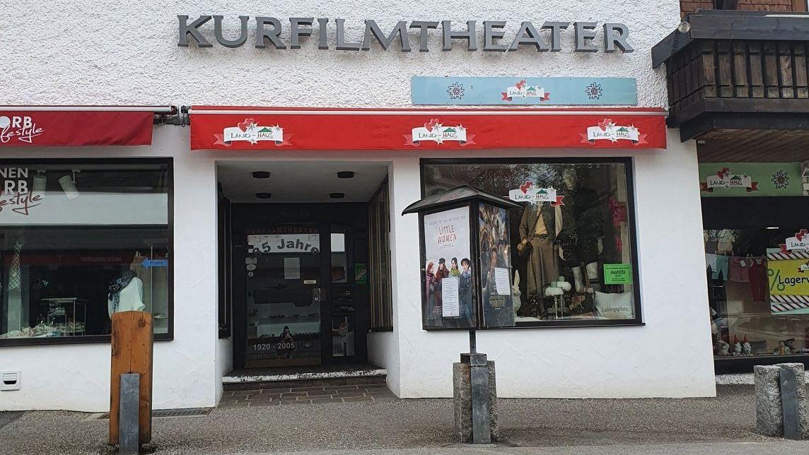 Das Kurfilmtheater in Oberstdorf.