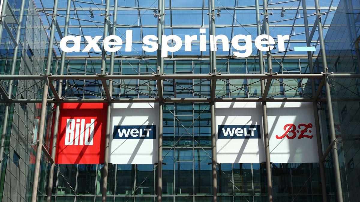 Konzernzentral von Axel Springer in Berlin