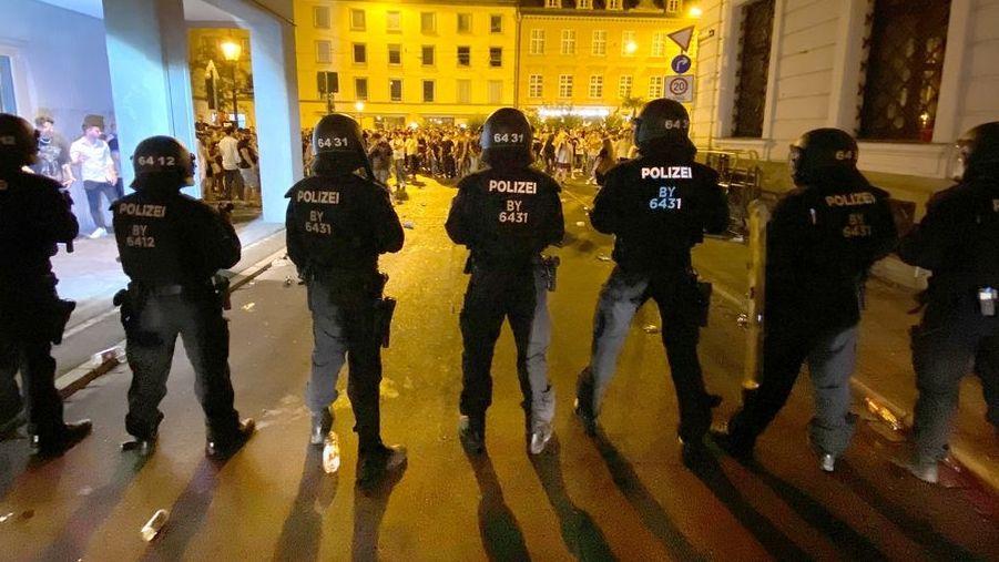 Nacht der Gewalt in Augsburg