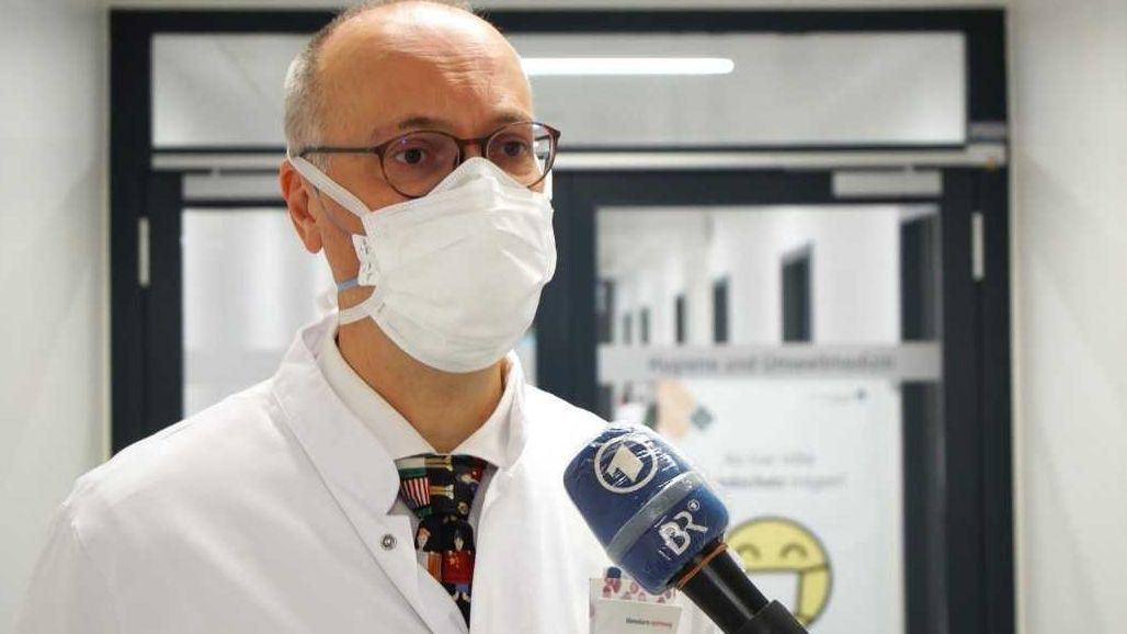 Michael Frühwald, der Leiter der Kinder- und Jugendklinik am Uniklinikum Augsburg