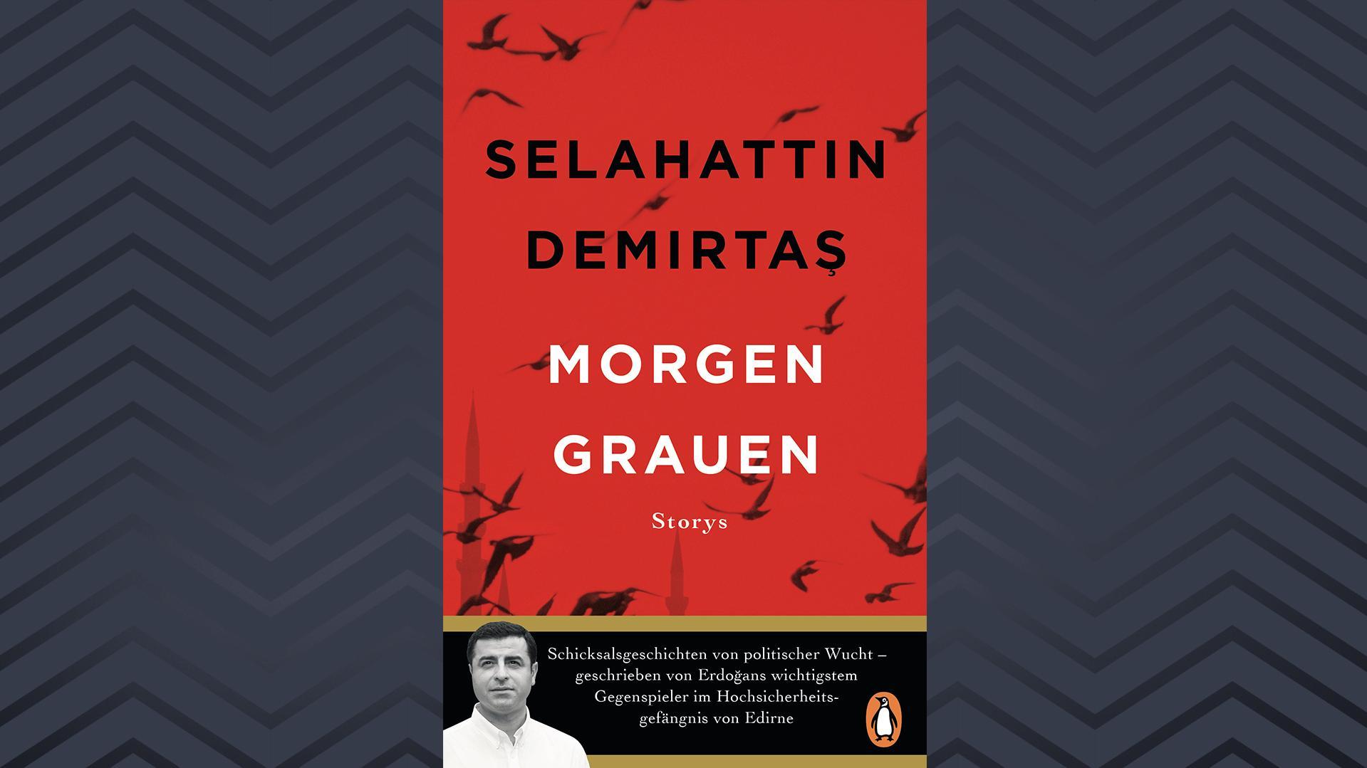 "Buchcover Selahattin Demirtaş, ""Morgengrauen"""