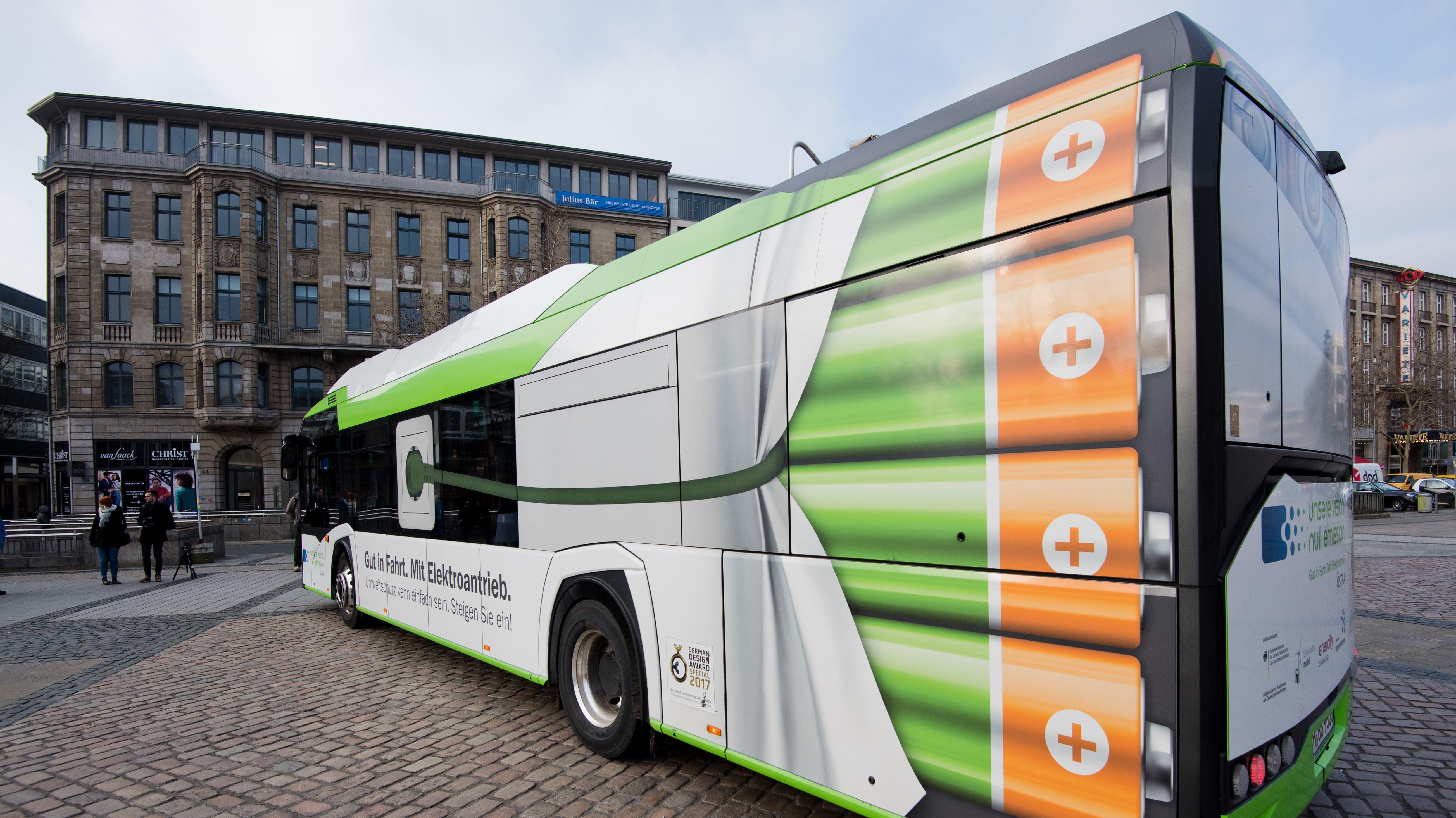 Bei E-Bussen im Nahverkehr hinkt Bayern hinterher