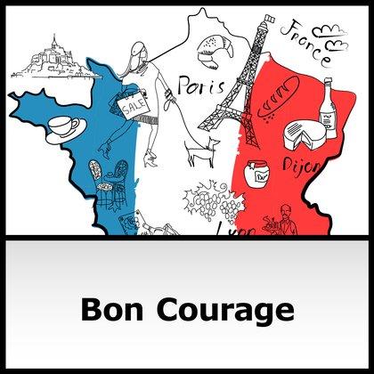 Podcast Cover Bon Courage - Französisch | © 2017 Bayerischer Rundfunk