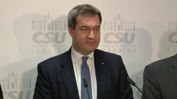 Söder will mit den Freien Wählern über Koalition verhandeln   Bild:BR