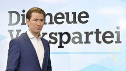 Sebastian Kurz, Ex-Bundeskanzler und Bundesparteiobmann der ÖVP | Bild:dpa-Bildfunk/Hans Punz