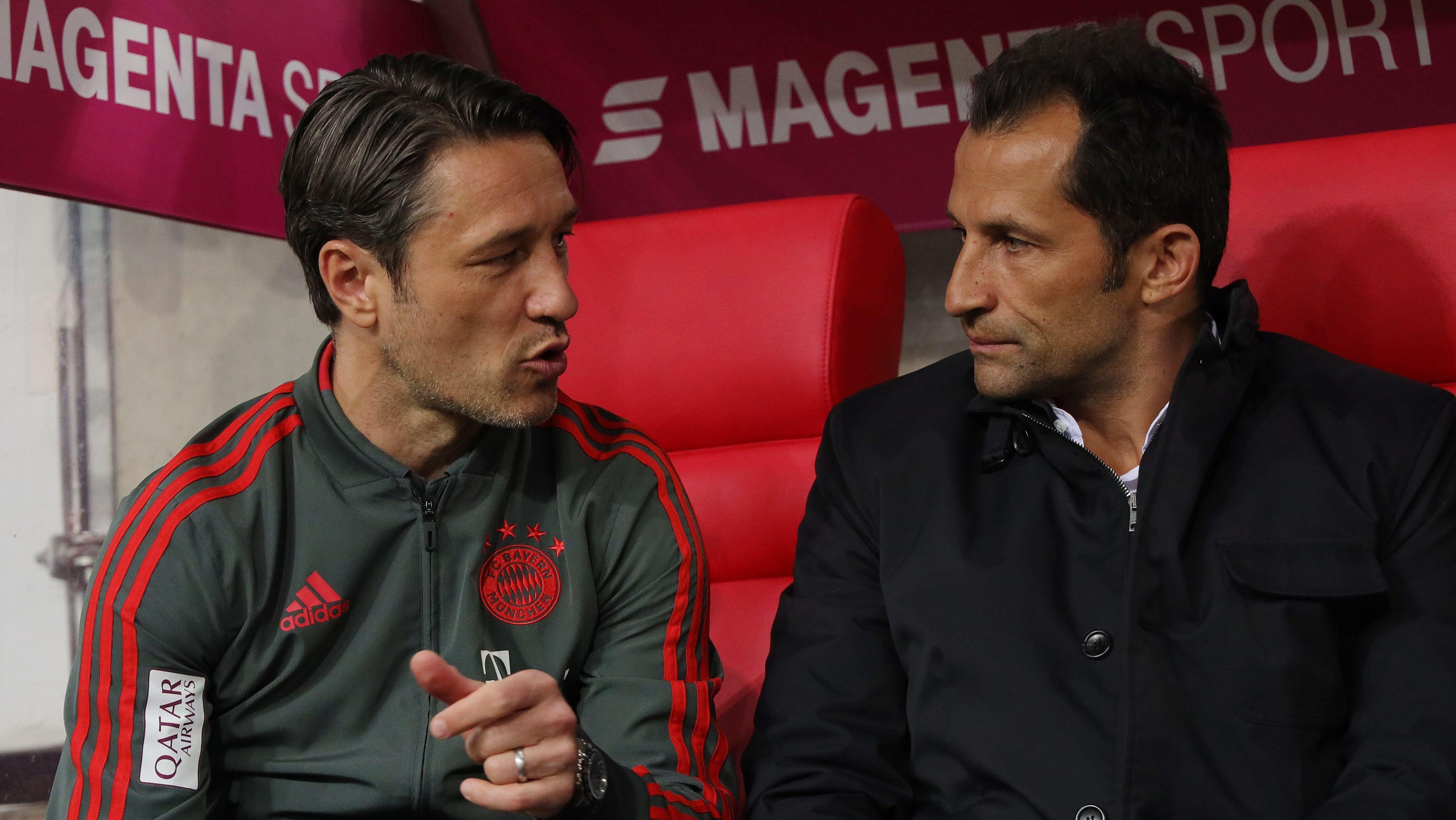 Trainer Niko Kovac und Sportdirektor Hasan Salihamidzic