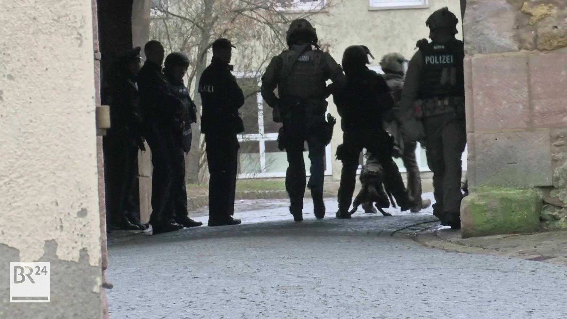 SEK-Einsatz in Iphofen
