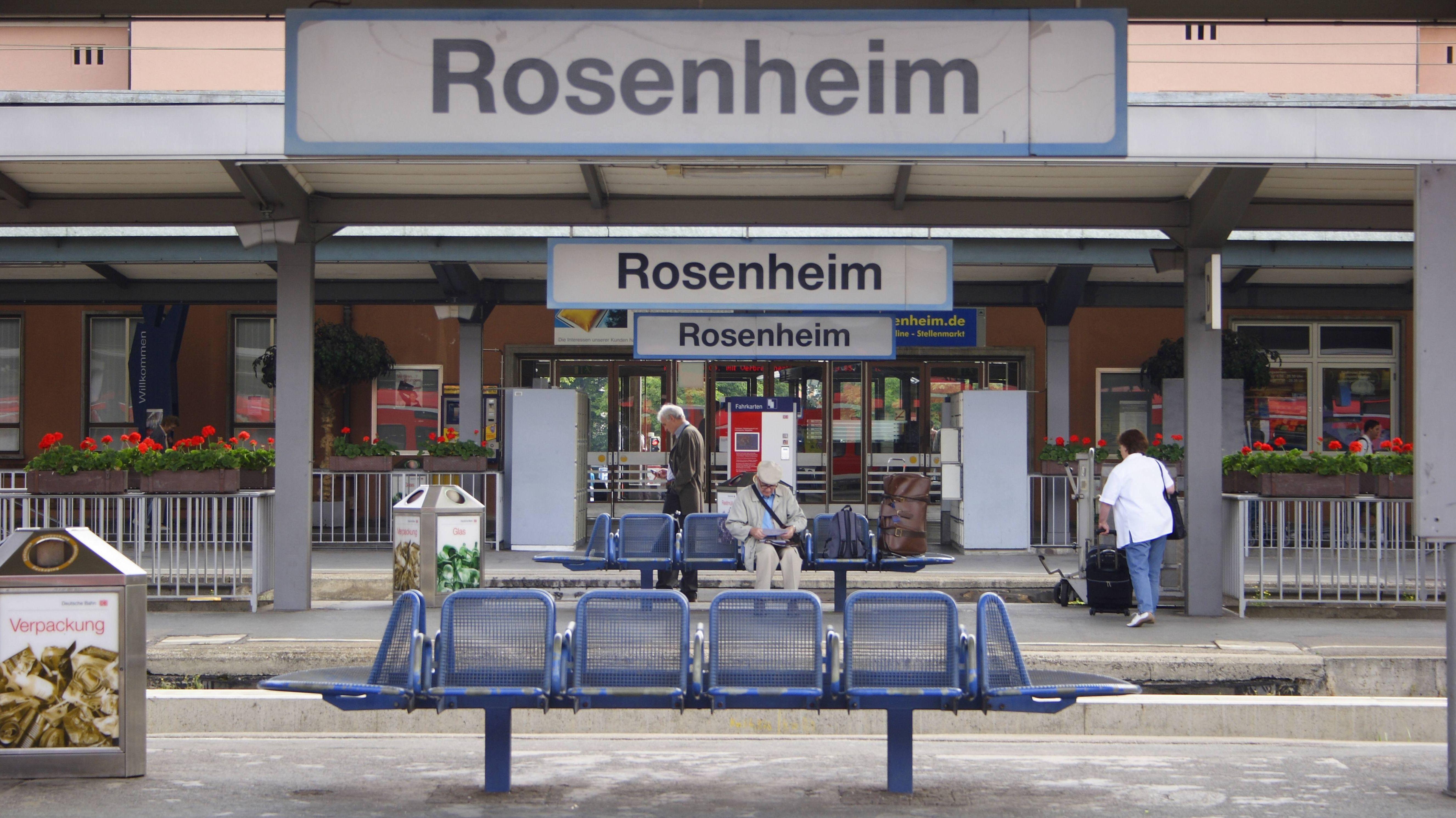 Bahnhof Rosenheim