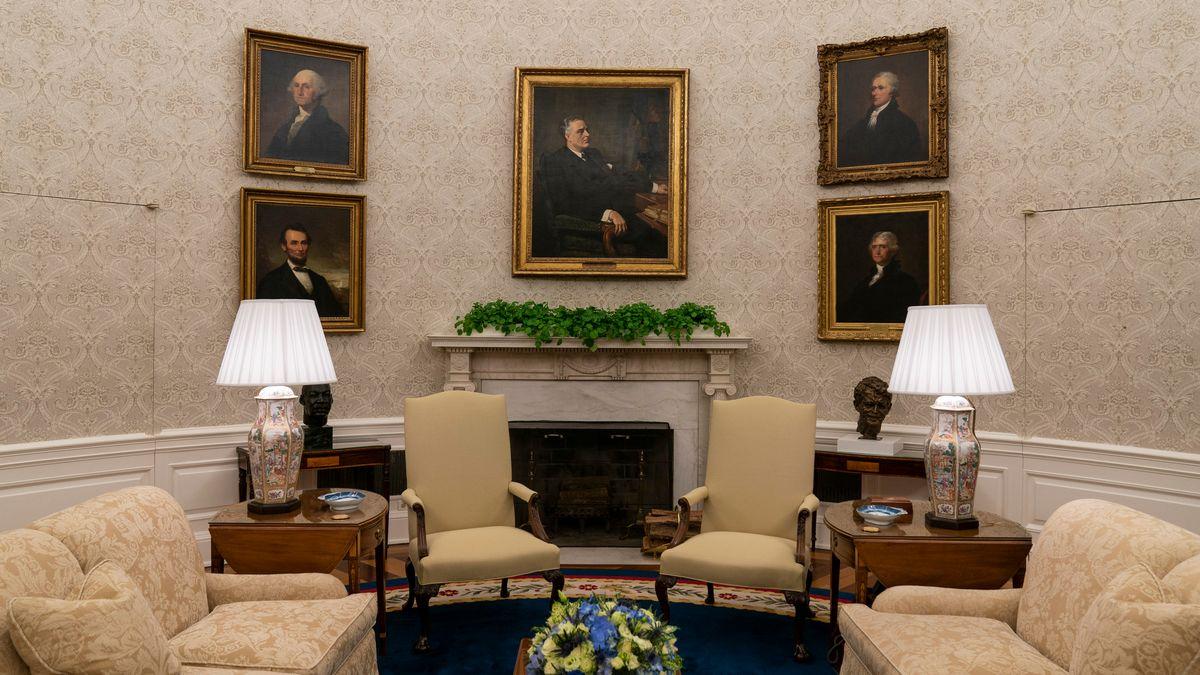 Mit Abraham Lincoln und Alexander Hamilton