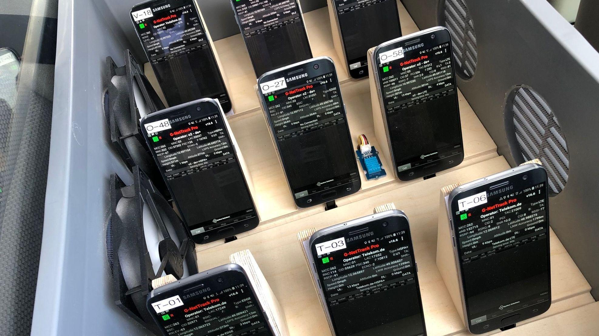 Endgeräte spüren Funklöcher im Mobilfunknetz auf