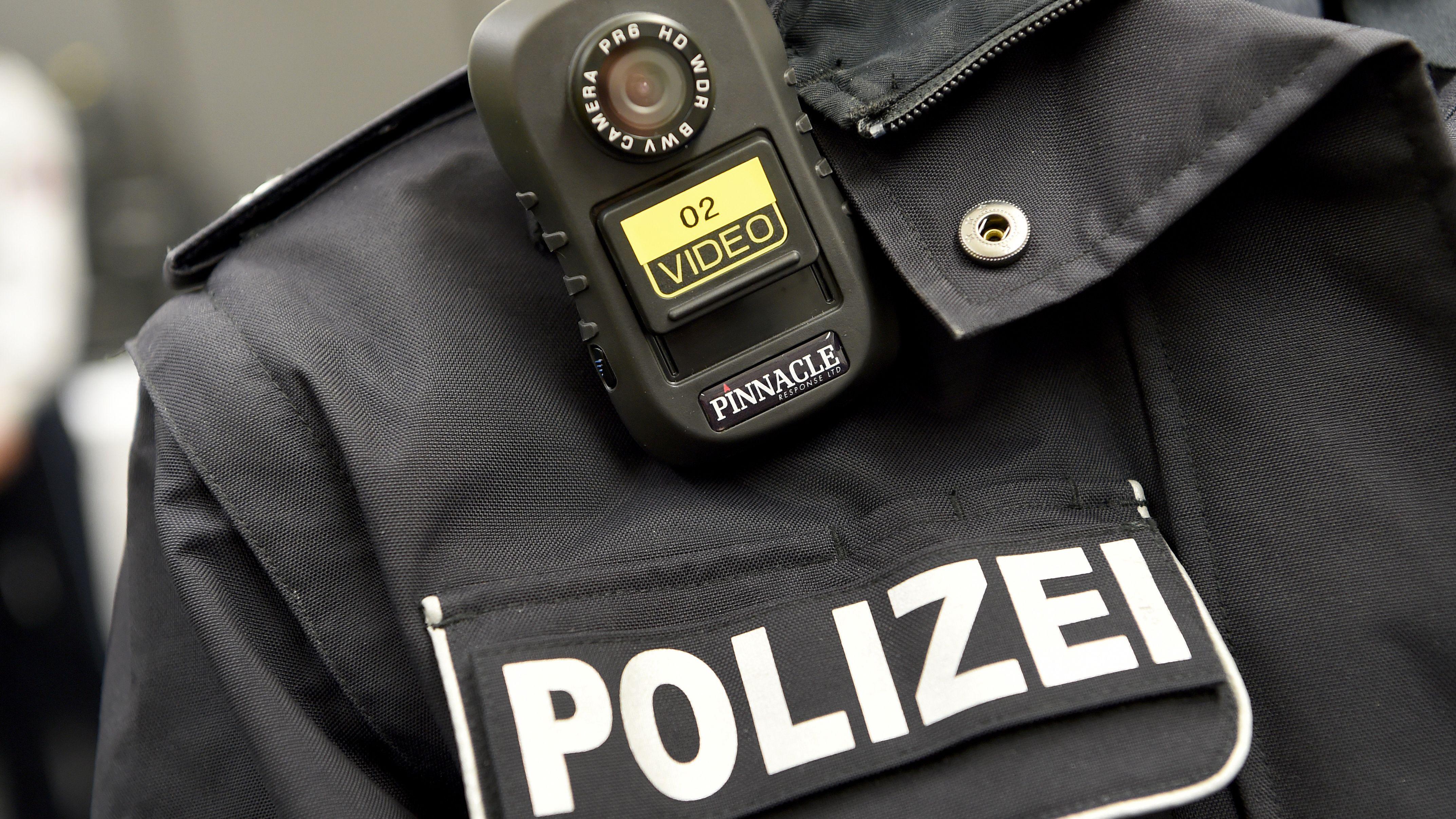 Body-Cam-Einsatz bei der Polizei