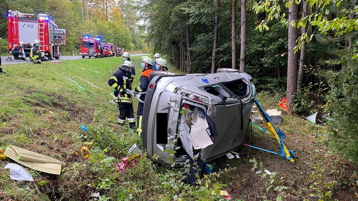 Verkehrsunfall bei Ebern