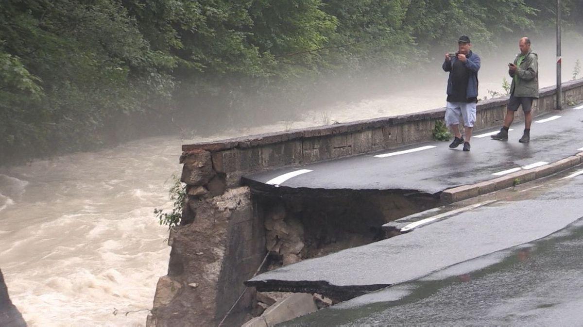 Hochwasserfotografen bei Berchtesgaden