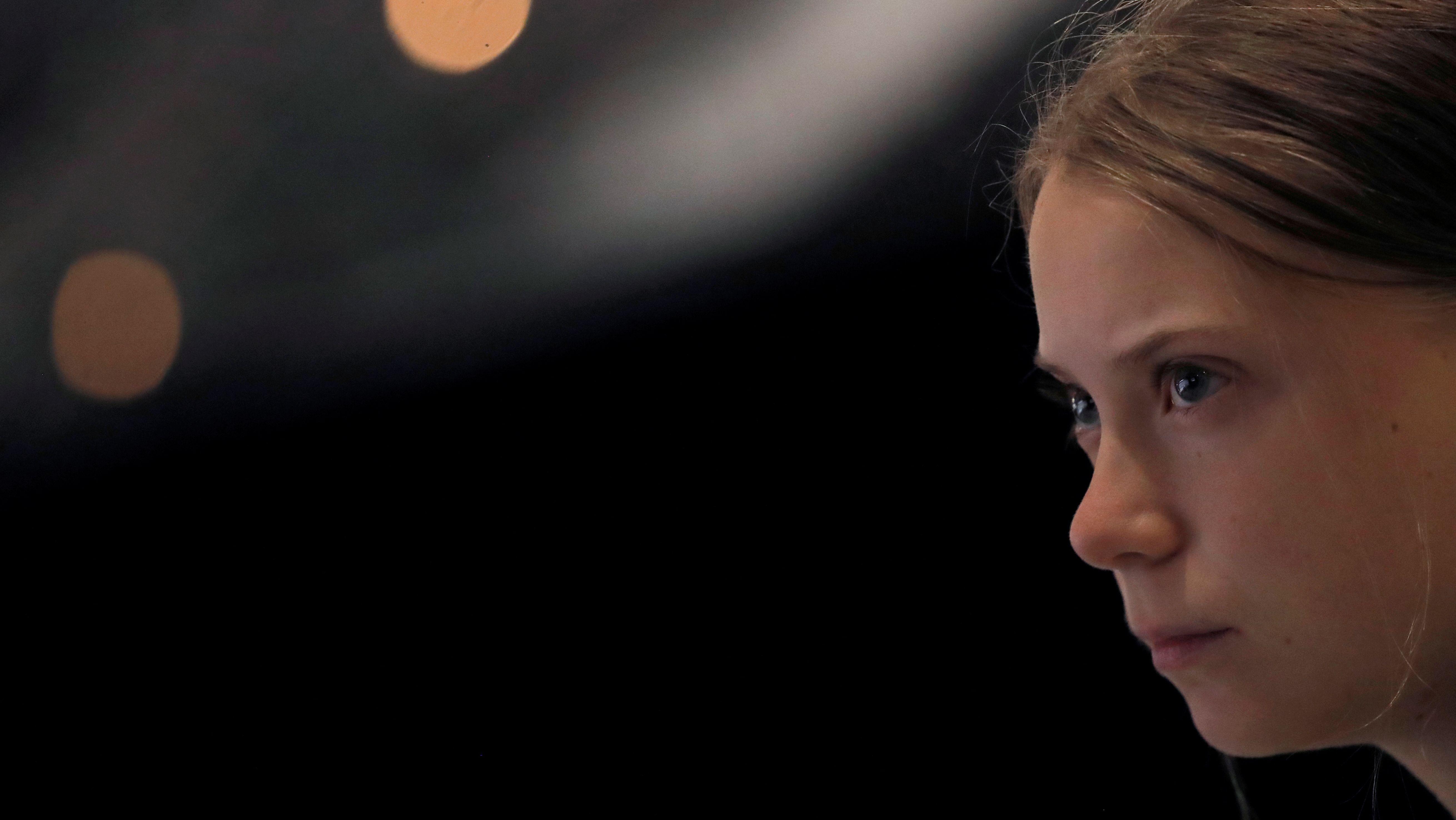 Greta Thunberg auf der Klimakonferenz in Madrid