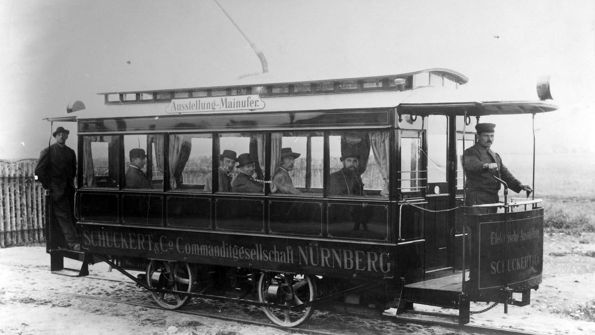 Straßenbahn Ausstellung