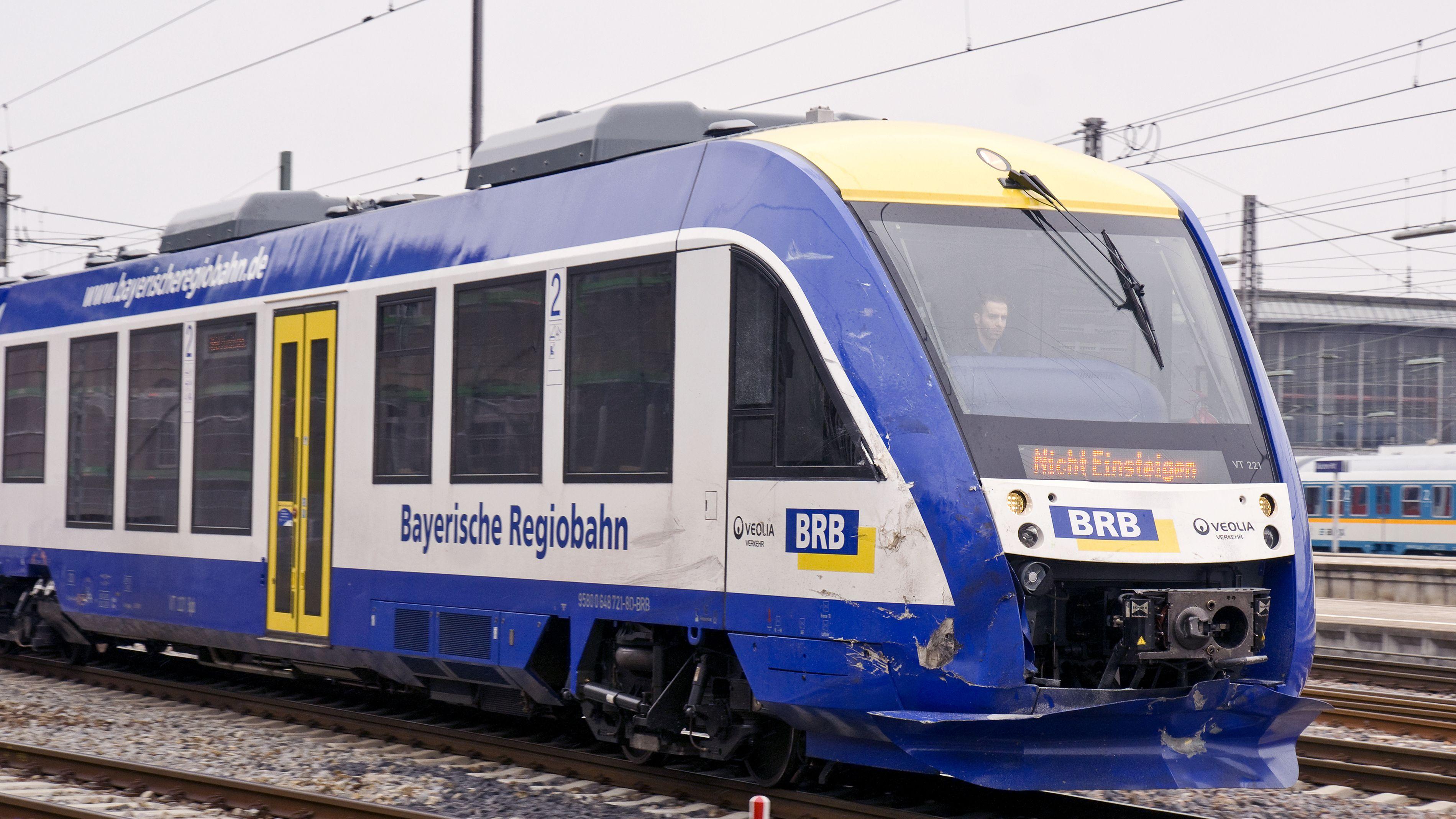Zug der Bayerischen Regiobahn