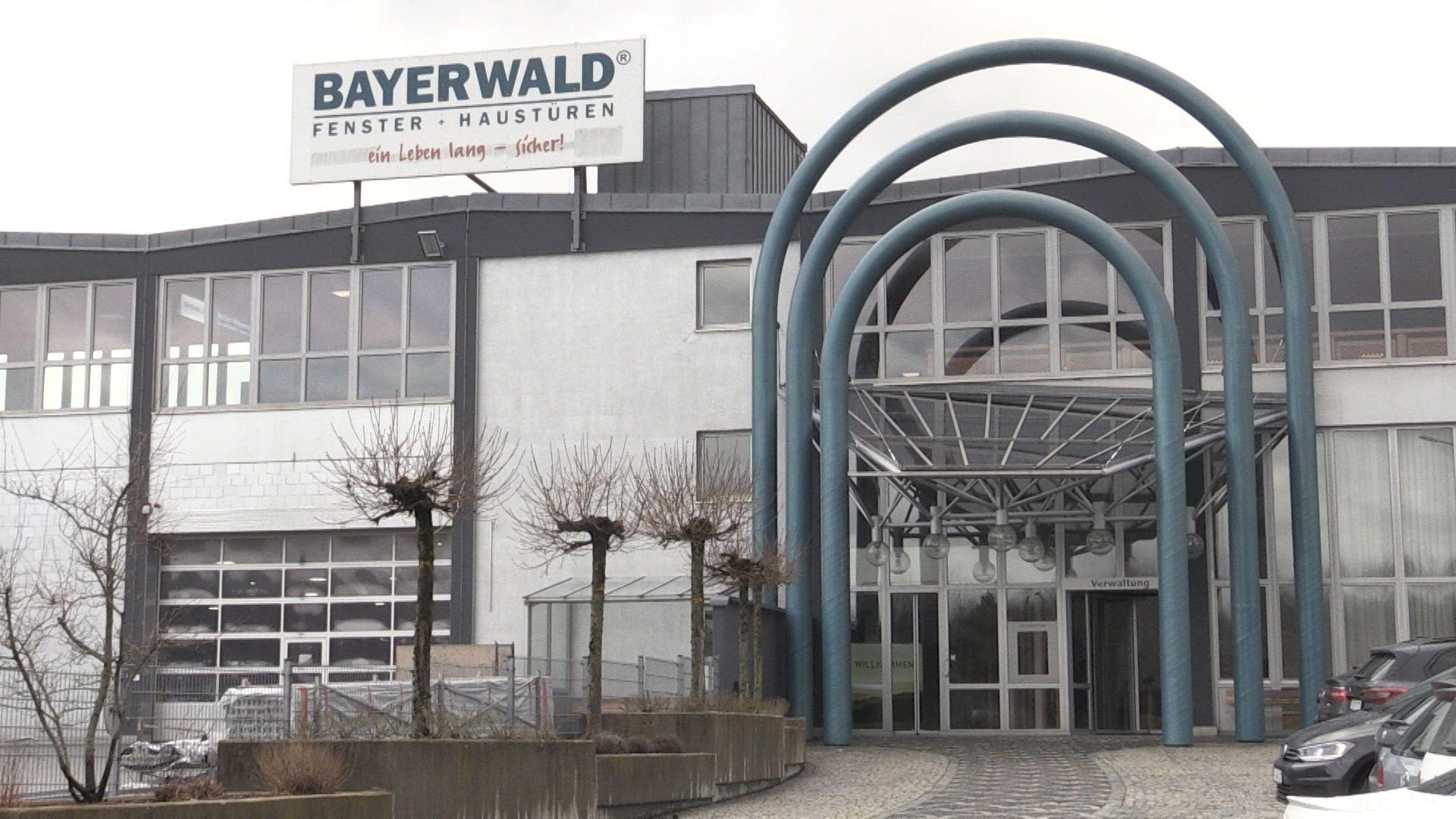 """Der Eingangsbereich der Firma """"Bayerwald Fenster Haustüren"""""""