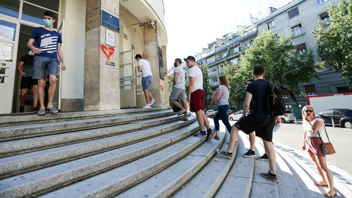 Kroaten bei der Parlamentswahl am Sonntag