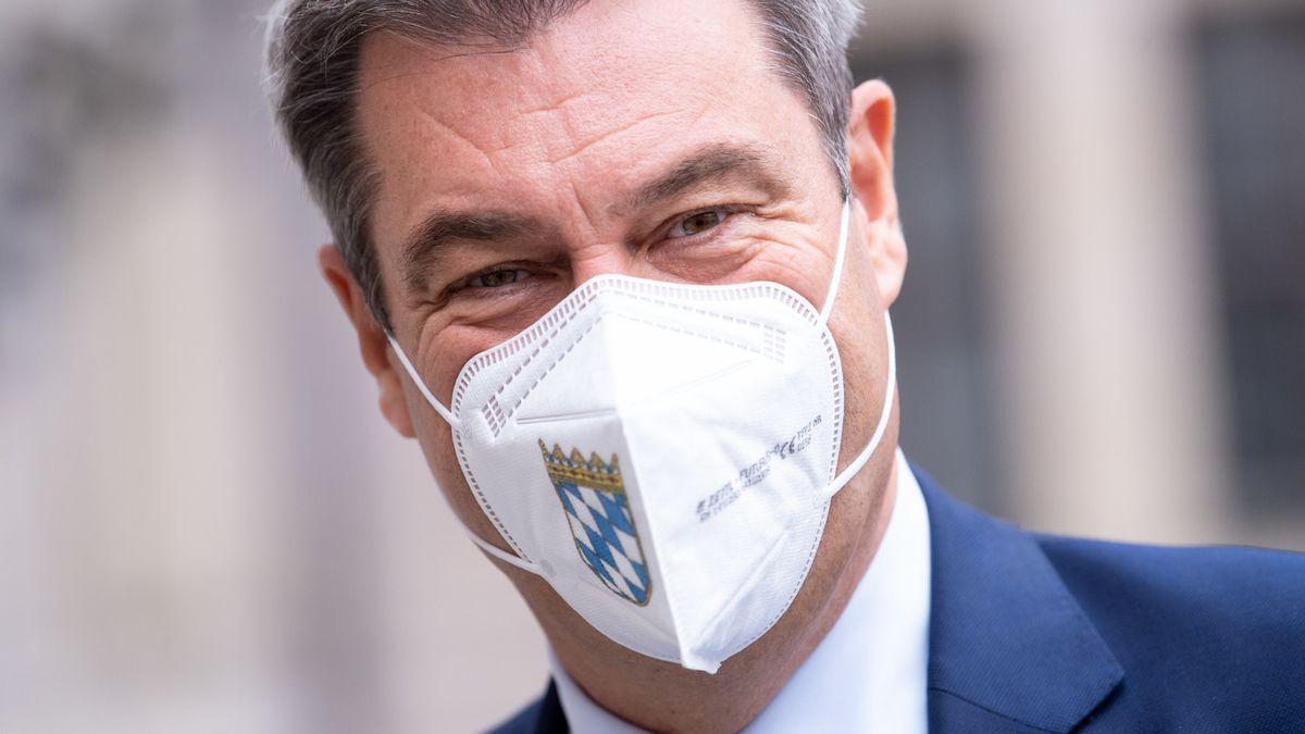 Bayerischer Ministerpräsident Markus Söder