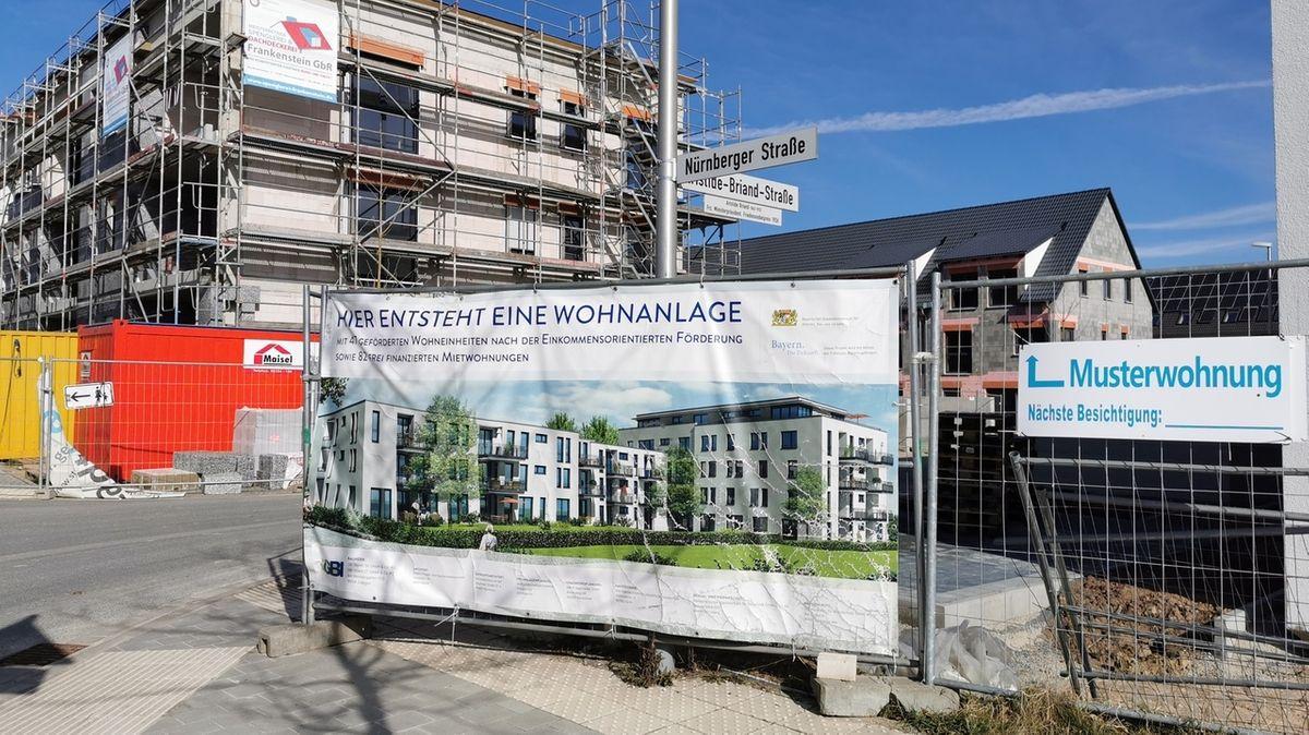 Herzo-Base Baustelle in Herzogenaurach