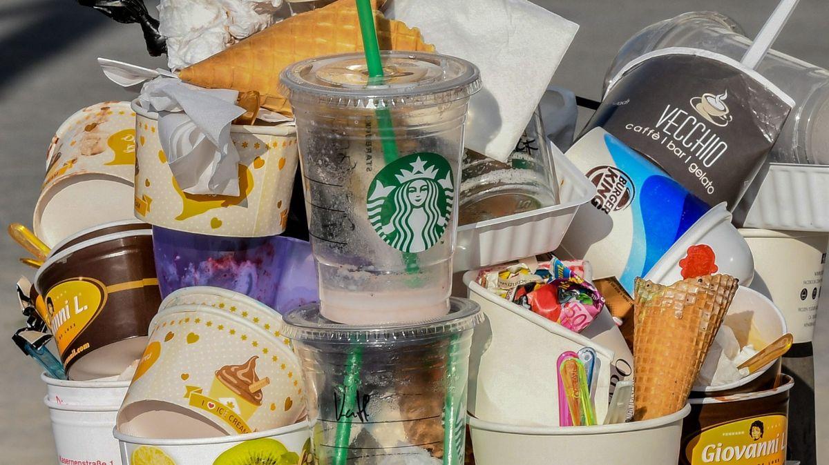 Gastronomie-Abfall (Symbolbild)