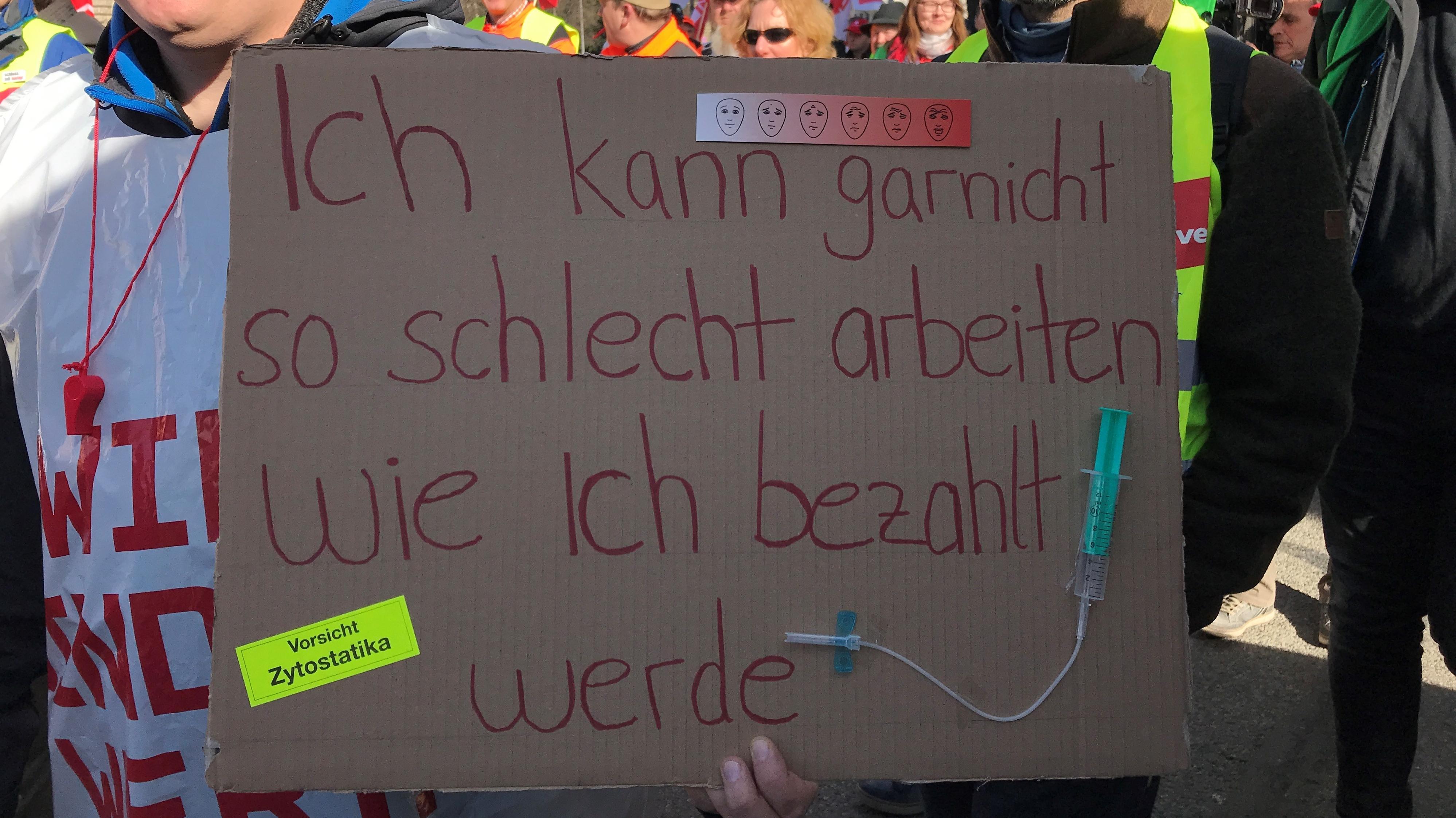 Verdi-Streik in München