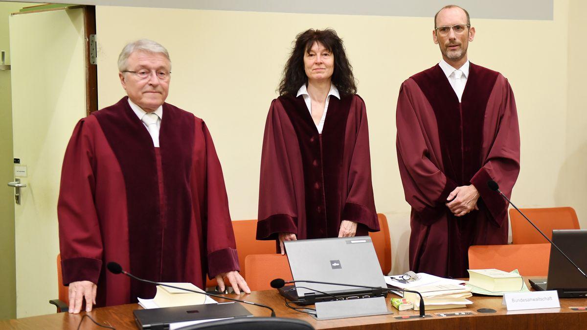 Gerichtssaal im NSU-Prozess