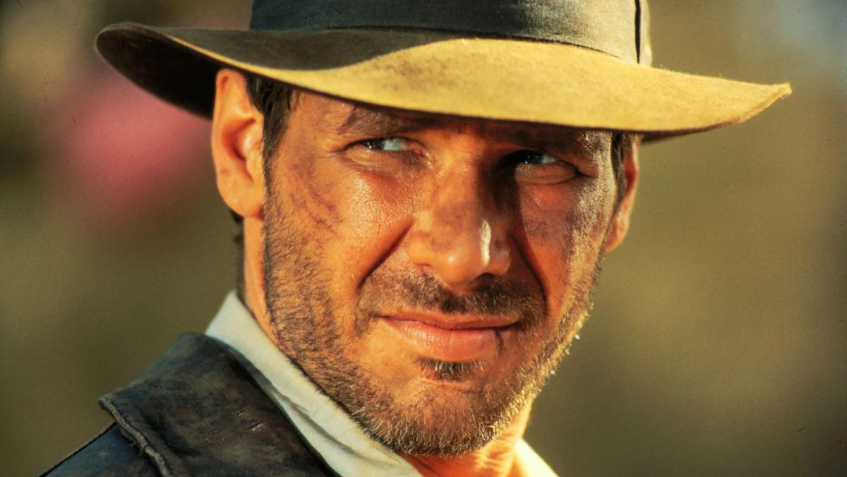 """Harrison Ford als """"Indiana Jones"""" (Filmszene)"""