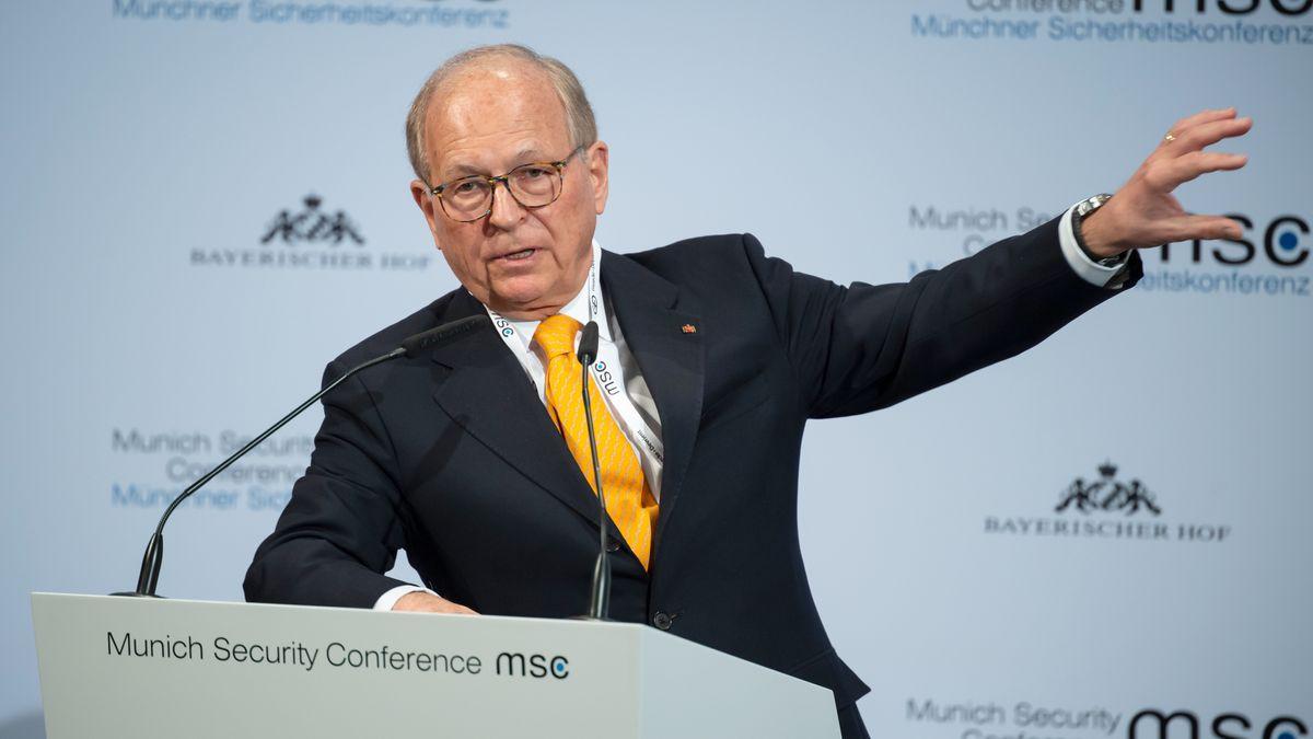 Wolfgang Ischinger auf der Münchner Sicherheitskonferenz 2020 (Archivbild)
