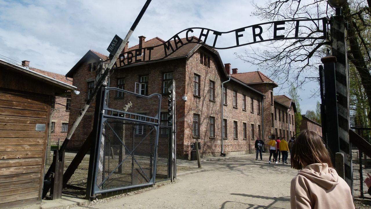 Tor in Auschwitz