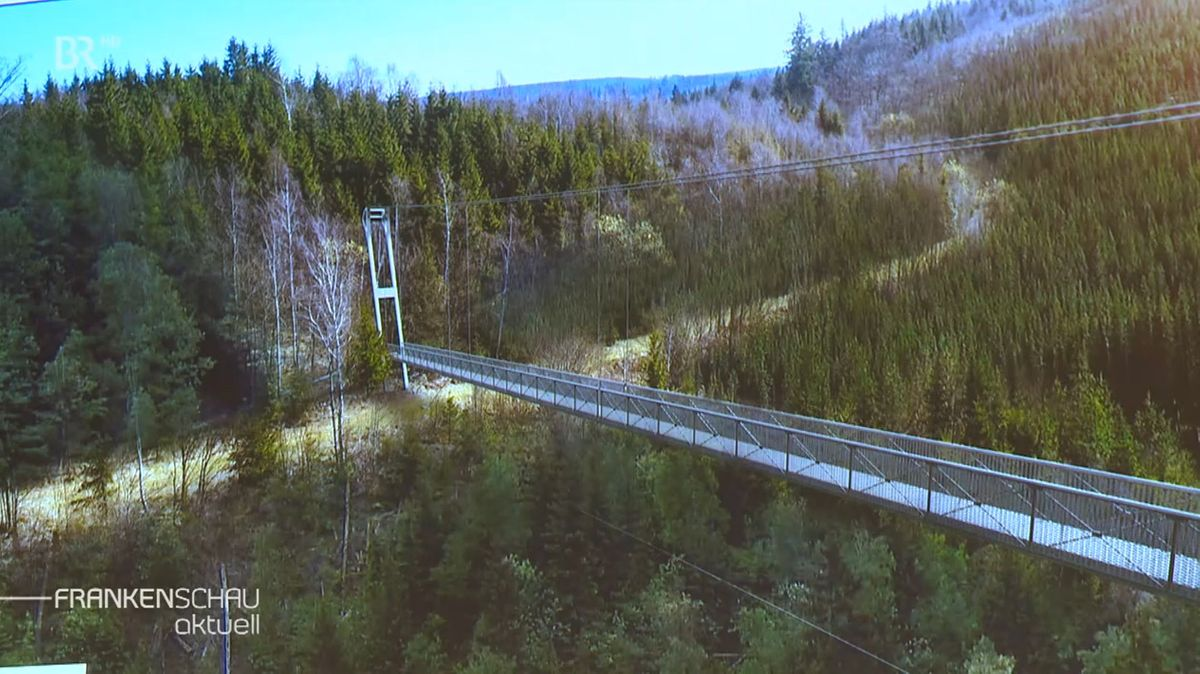 Eine Animation, wie die künftige Brücke aussehen könnte.
