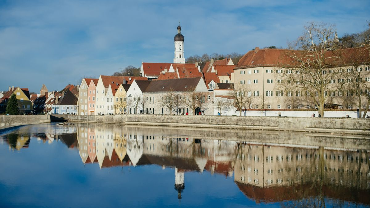 Landsberg am Lech im Winter