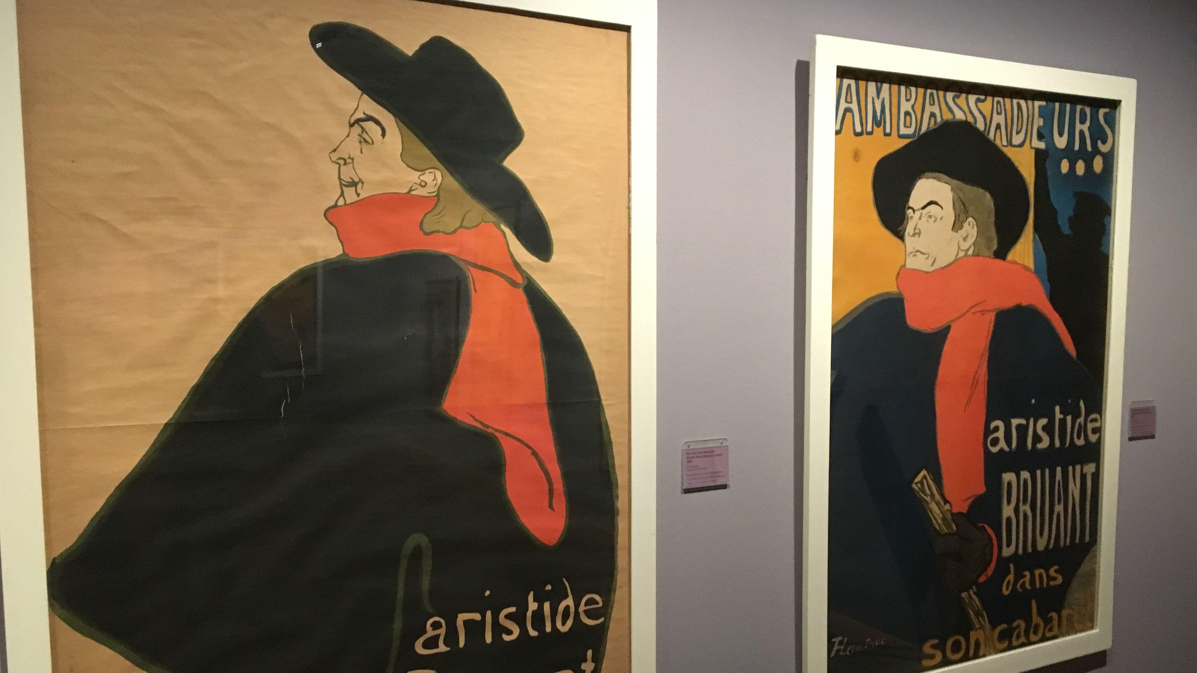 Sonderausstellung Toulouse-Lautrec im Schweinfurter Museum Georg Schäfer