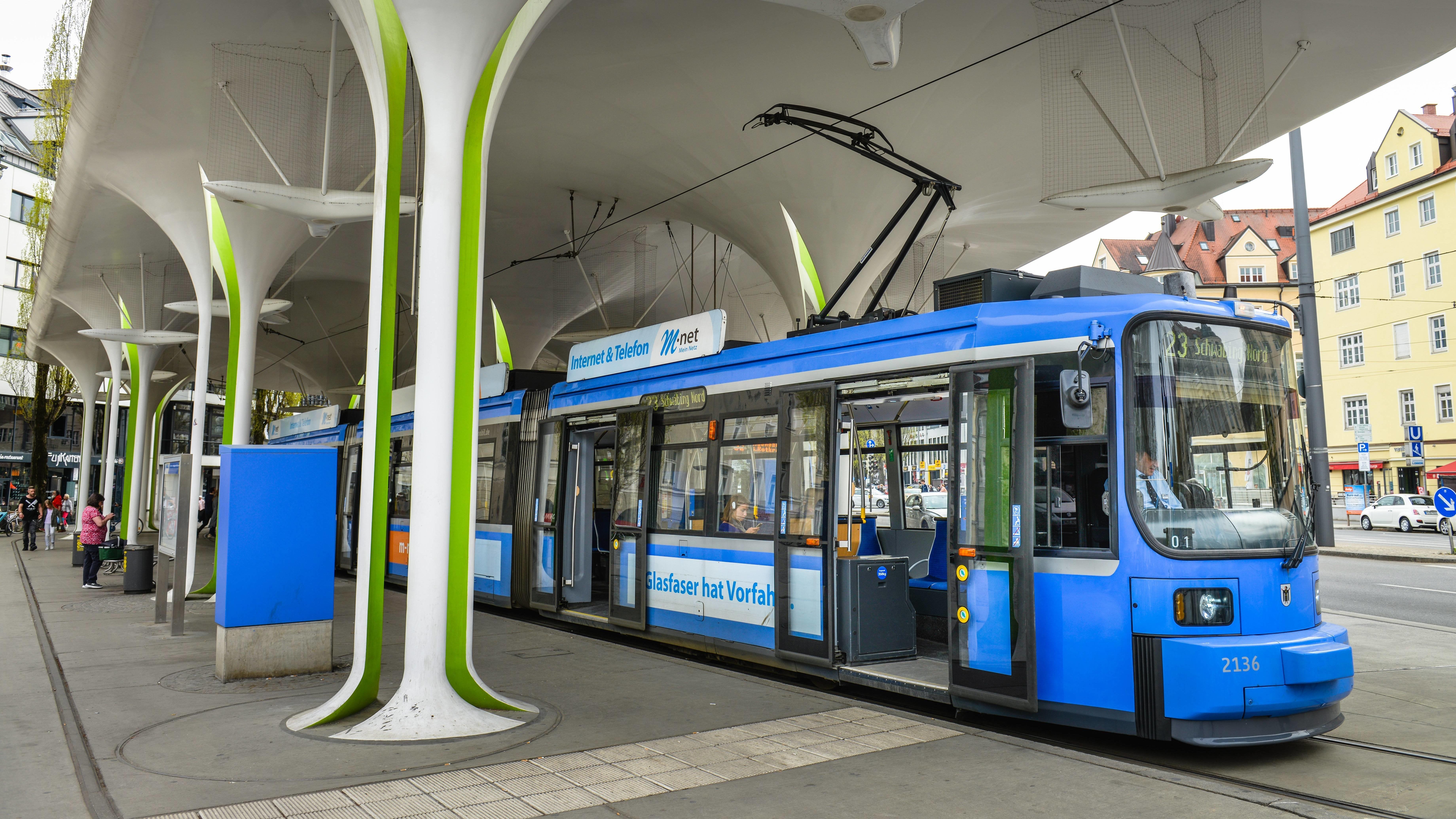 Symbolbild: Tram in München