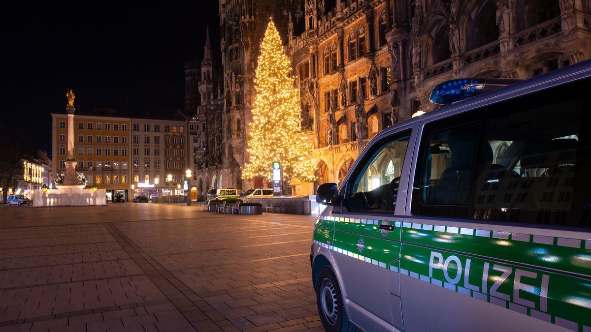 Polizei kontrollliert Ausgangssperre auch in der Silvesternacht
