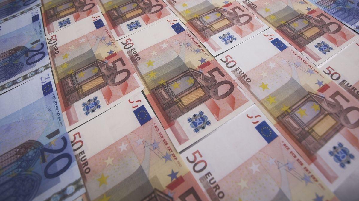 20- und 50-Euro-Scheine