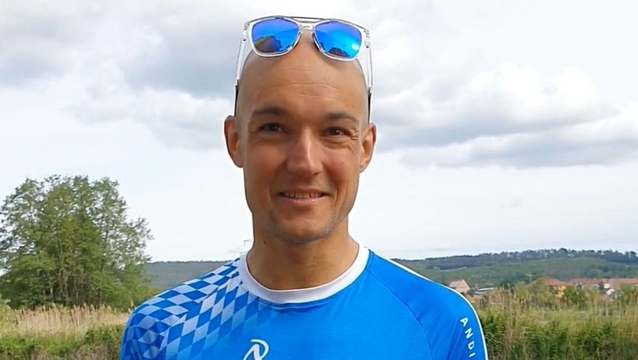 Triathlet Andreas Dreitz