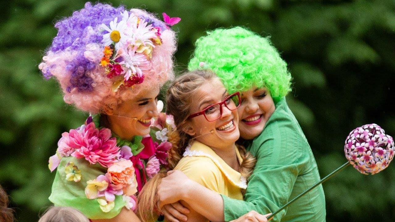 """Der Märchensommer auf der Kemptener Burghalde startet am Mittwoch, 10. Juli. Insgesamt 16 Mal wird der """"Zauberer von Oz"""" aufgeführt."""