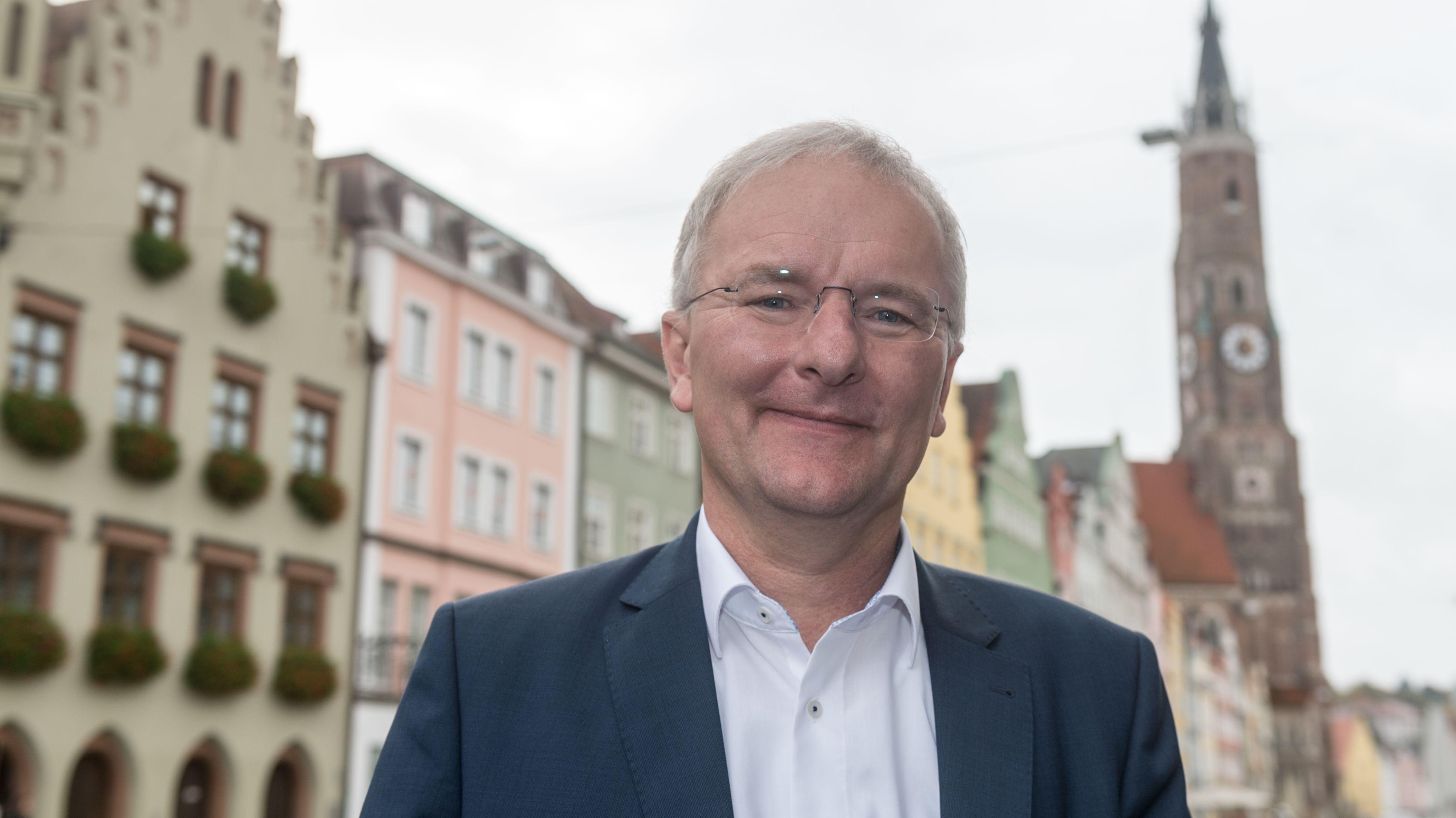 Oberbürgermeister Alexander Putz von der FDP.