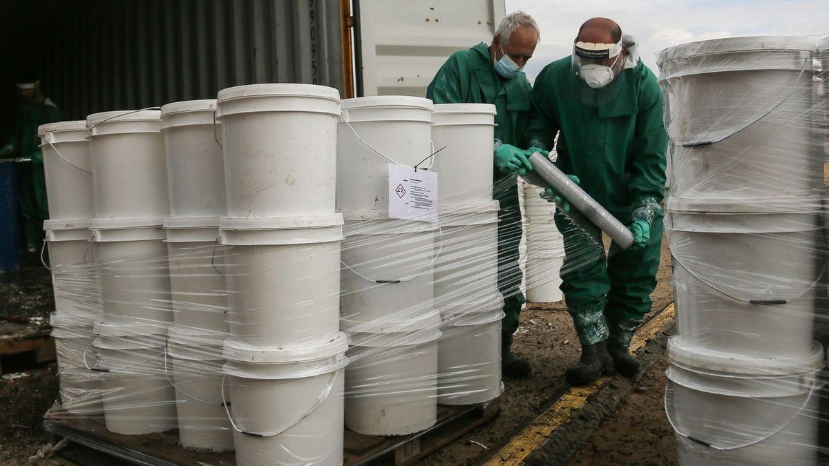 Giftmüll aus dem Libanon